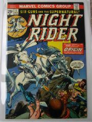 Night Rider #1 (1974) VFN/NM Bronze Age Western